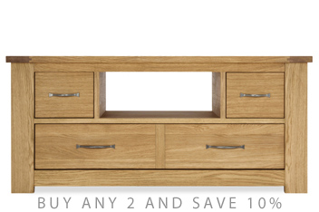Cambridge® Light Corner TV Stand
