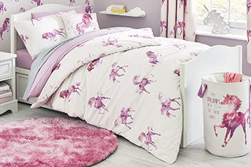 Magical Unicorns Bed Set
