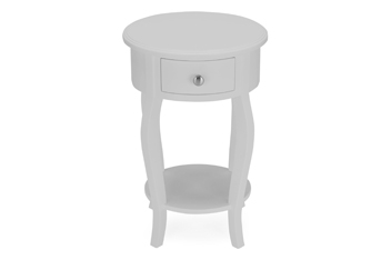 Evelyn Round Bedside Table