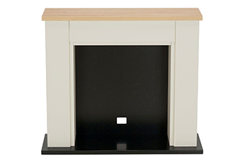 Malvern Cream  Fire Surround