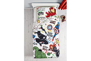 Marvel® Avengers Bed Set