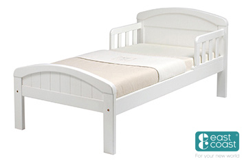 Toddler Bed White By East Coast