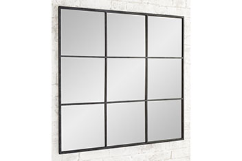Metal Window Mirror