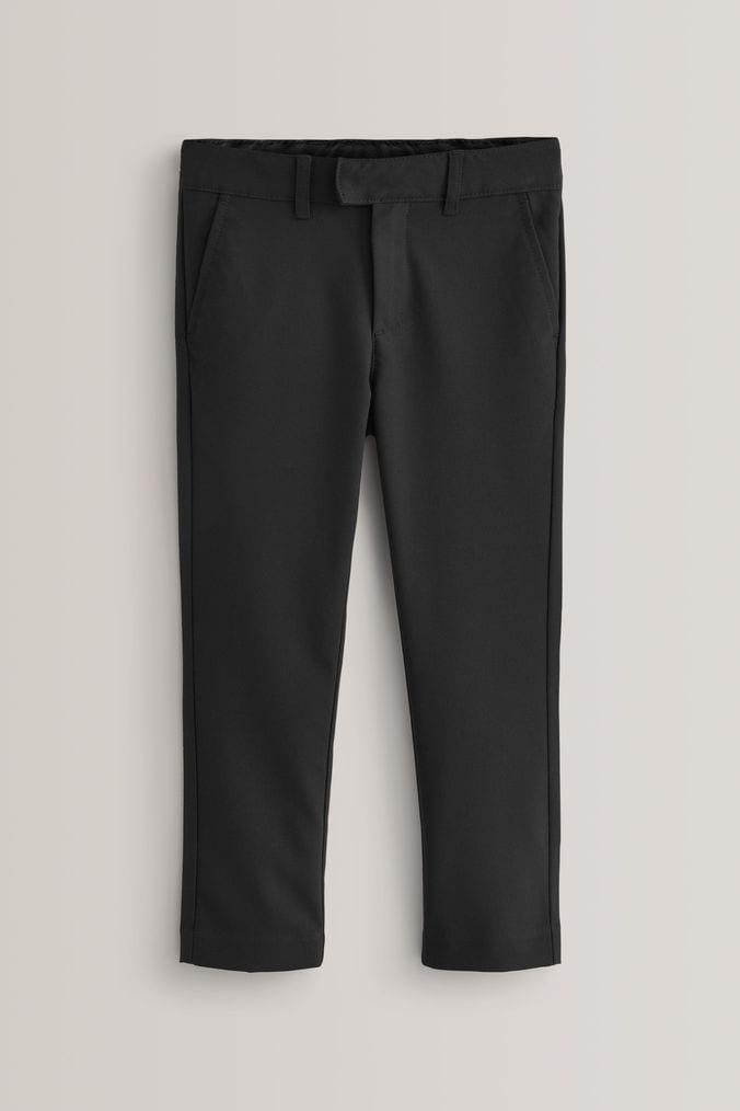 d4280bdbb2 Boys Next Black Formal Stretch Skinny Trousers (3-16yrs) - Black ...