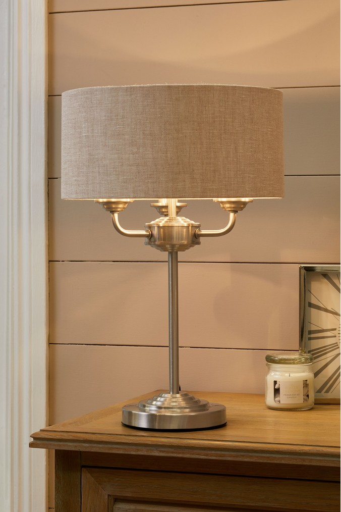 Next Burford 3 Light Table Lamp Chrome 65 00 Trinity Leeds