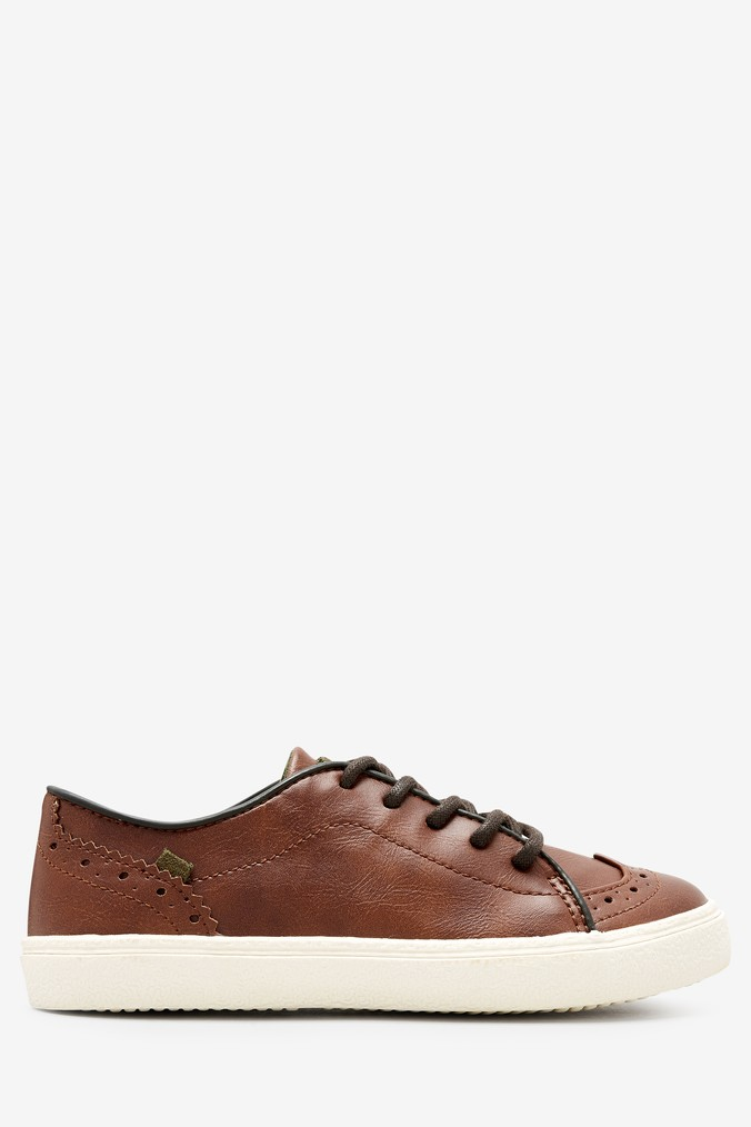 712f8abee Boys Next Tan Lace-Up Brogues (Older) - Brown - £18.00 - Bullring   Grand  Central