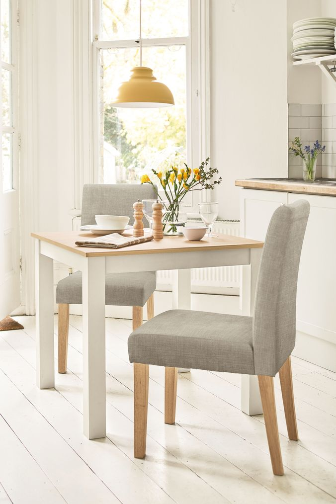 07345bbfb25 Next Malvern Fixed Dining Table - Cream