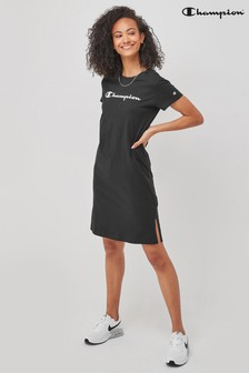 Champion Black Dress
