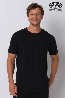 Animal Black Young Pocket T-Shirt
