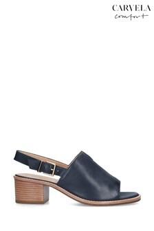 Carvela Comfort Navy Ace Sandals