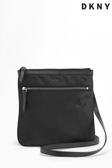 DKNY Black Nylon Casey Crossbody Bag