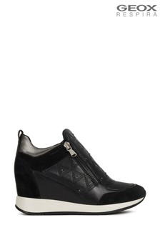 Geox Women's Nydame Black Shoes