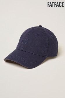 FatFace Blue Plain Baseball Cap