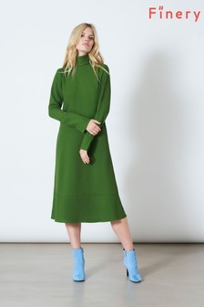 Finery London Green Arden Dress