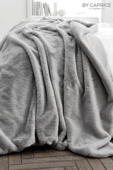 Caprice Exclusive To Next Ava Luxury Faux Fur Throw