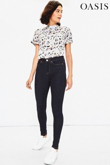 Oasis Blue Lily Skinny Jeans