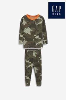 Gap Dinosaur Camouflage Pyjamas