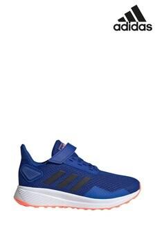 adidas Run Blue Duramo 9 Junior Trainers