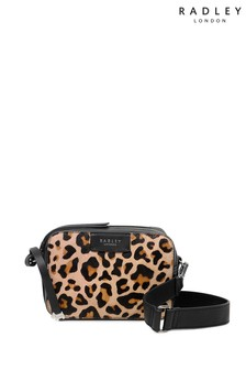 Radley London Alba Place - Faux Leopard Small Zip Around Cross Body Bag