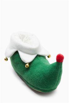 Elf Boot Slippers (Older Boys)
