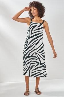 Square Neck Slip Dresses 2 Pack