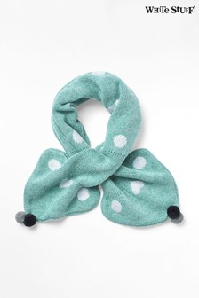 White Stuff Green Spot Tippet Scarf