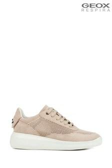 Geox Women's Rubidia Cream Shoes