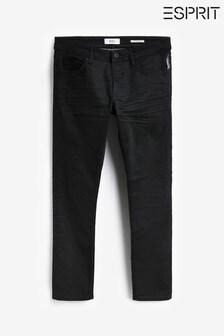 Esprit Black Slim Coated Jeans