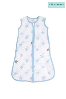 aden + anais Essentials Blue 1.0 Tog Summer Sleeping Bag
