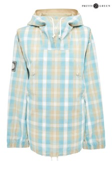 Pretty Green Mint Forest Check Jacket