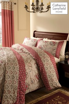 Kashmir Easy Care Duvet Cover and Pillowcase Set by Catherine Lansfield