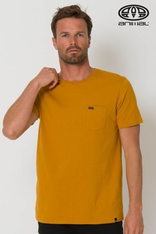 Animal Yellow Young Pocket T-Shirt