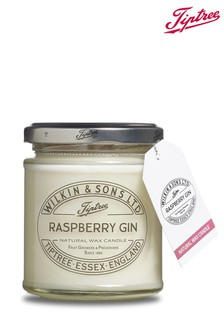 Raspberry Gin Jam Jar Candle by Tiptree