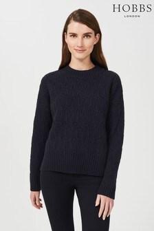 Hobbs Blue Pure Wool Sweater