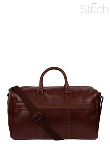 Made By Stitch Aviator Leather Holdall