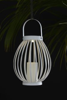 Buy lighting outdoor lighting white outdoorlighting from the next uk solar lantern mozeypictures Images