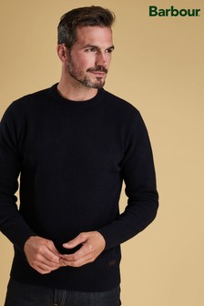 Barbour® Navy Nelson Essential Crew Sweater