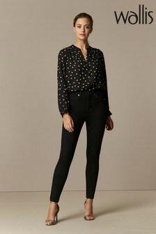 Wallis Petite Black Ellie Skinny Jeans