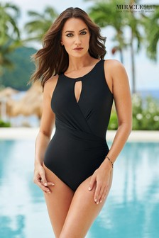 Miraclesuit Black Arden Swimsuit