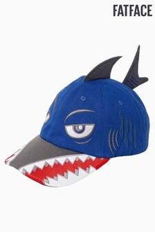 FatFace Blue Shark Baseball Cap