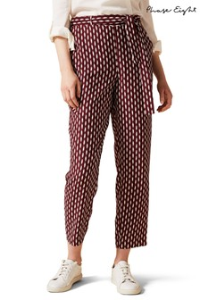 Phase Eight Red Abby Jayne Trousers