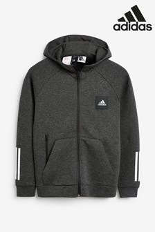 adidas Black Must Have Full Zip Hoody