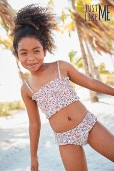 Marszczone bikini (3-16 lat)