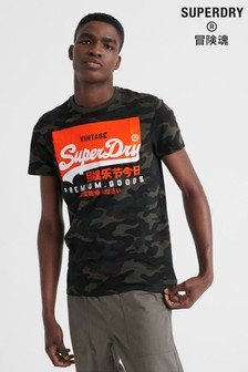 Superdry Premium Goods Camo T-Shirt