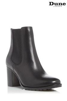 Dune London Partnia Cleated Block Heel Chelsea Boots