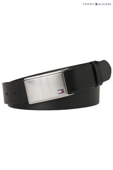 Tommy Hilfiger Adjustable Flag Plaque Belt