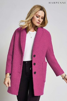 Harpenne Pink Textured Coat