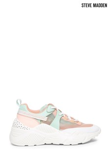 Steve Madden Mint/Pink Trainers