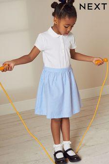 Gingham Skirt Dress (3-14yrs)