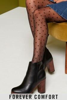 Forever Comfort® Platform Ankle Boots